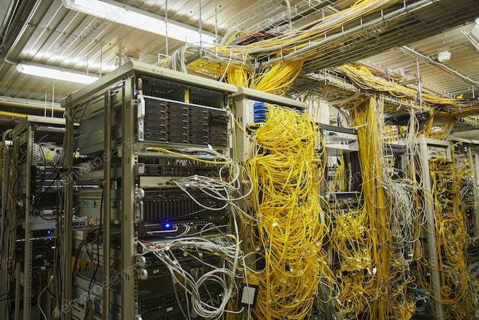 Computer Network Server Room