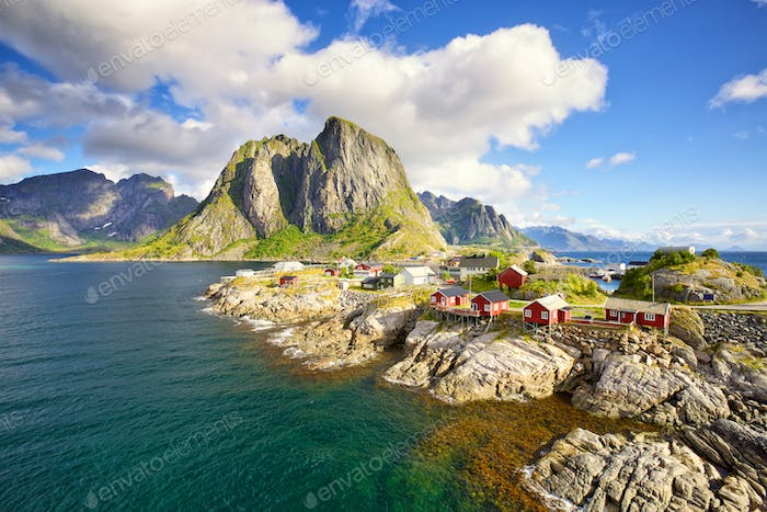 Fishing huts in Lofoten