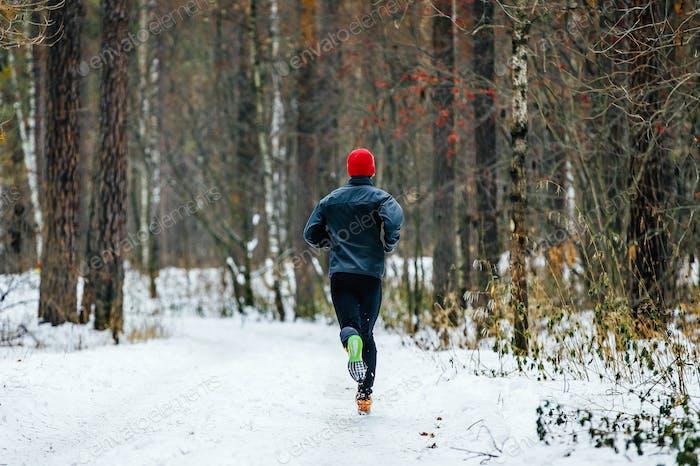 Männliche Läufer Laufen