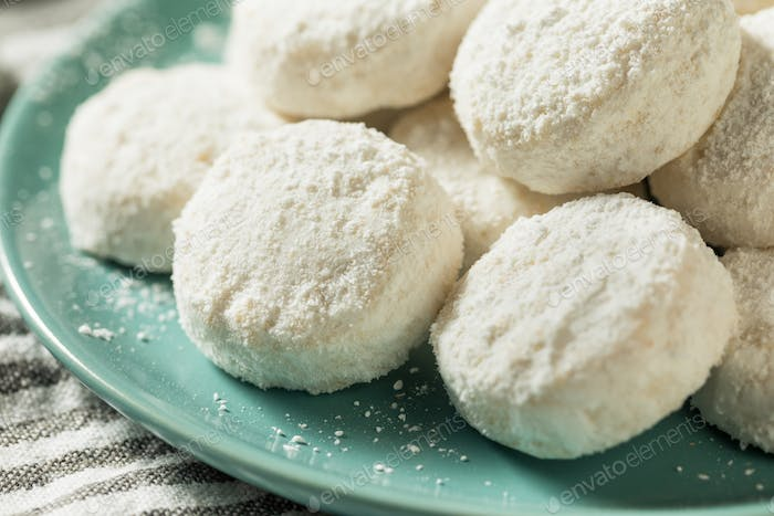 Homemade White Mexican Wedding Cookies