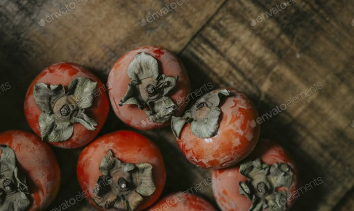 Persimmon harvest