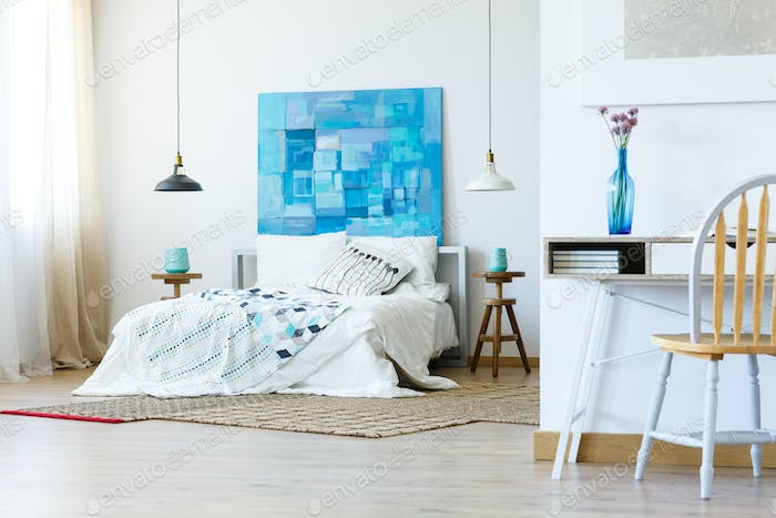 Bedroom in simple style