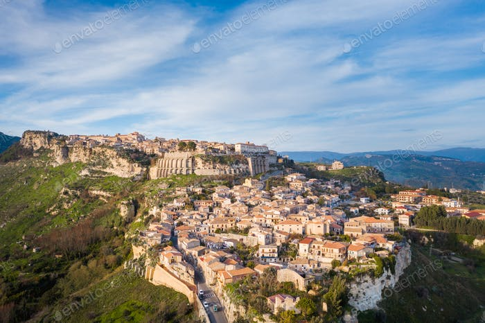 Gerace city, in Calabria