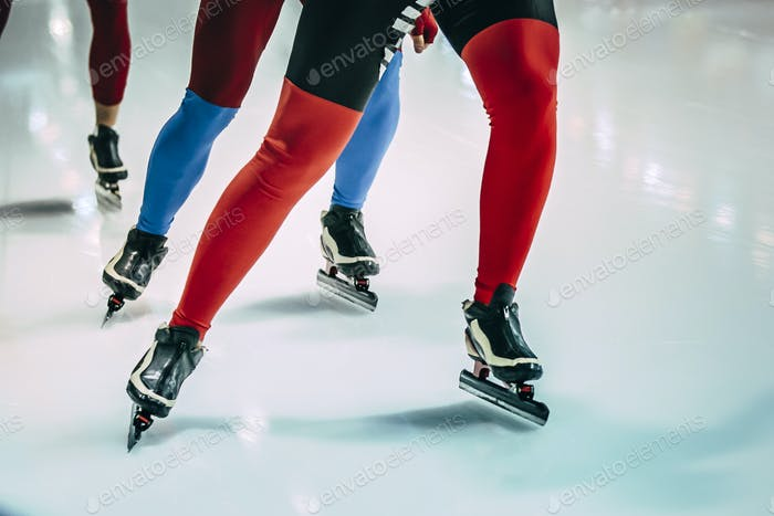 group of girls skating