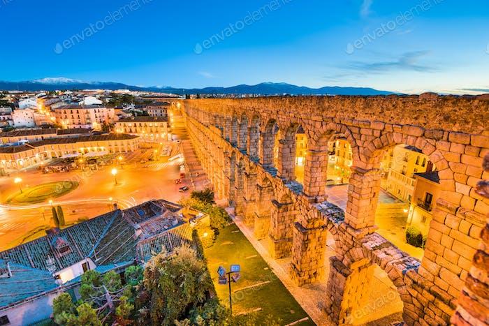 Segovia, Spain Aqueduct
