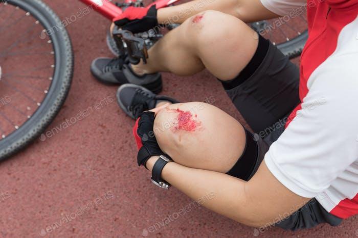 Fahrradverletzungen