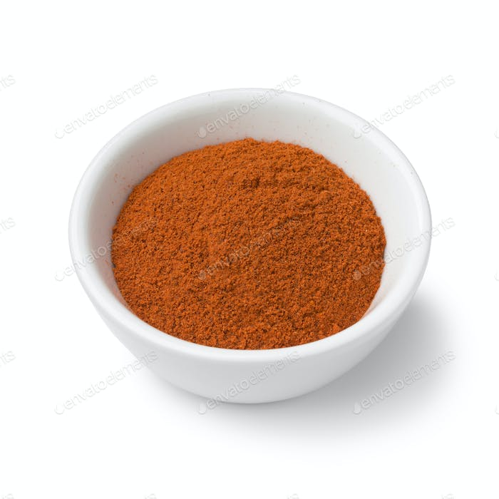 Bowl with ground Annatto powder