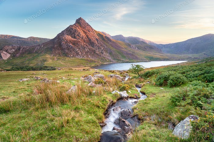 Mount Tryfan in Snowdonia