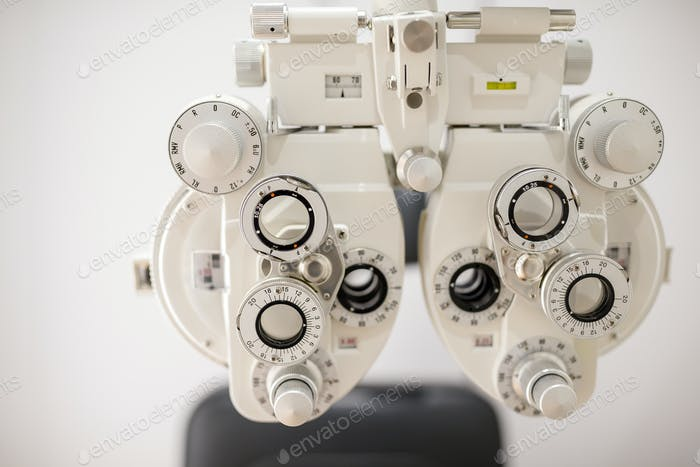 Optometry machine vision