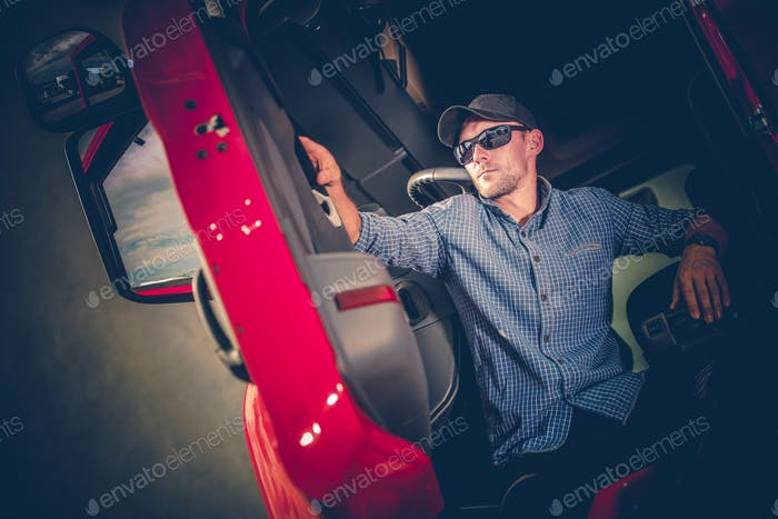 Young Truck Driver