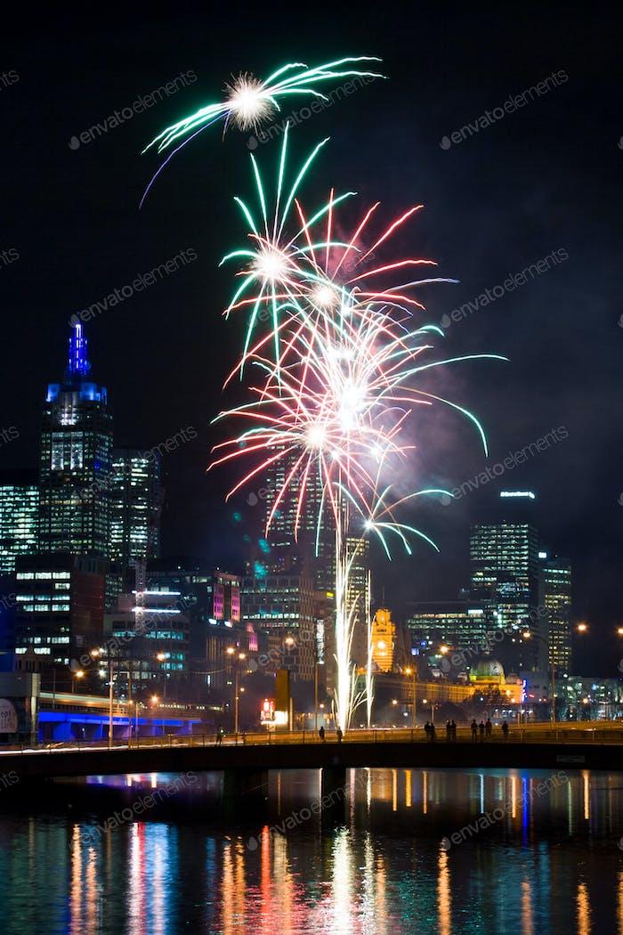 Crown Casino Fireworks