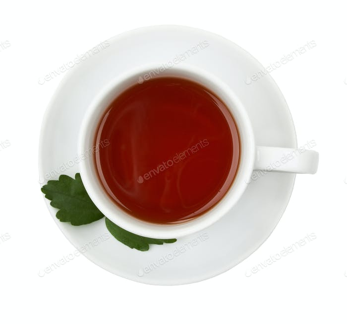 Cup of black tea.