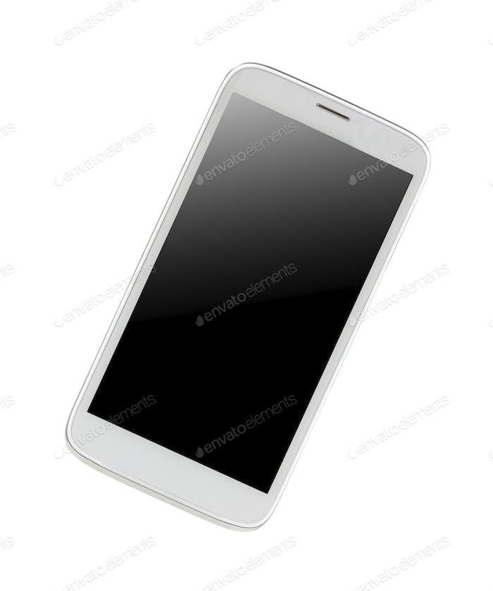 Isolated shining smartphone isolated