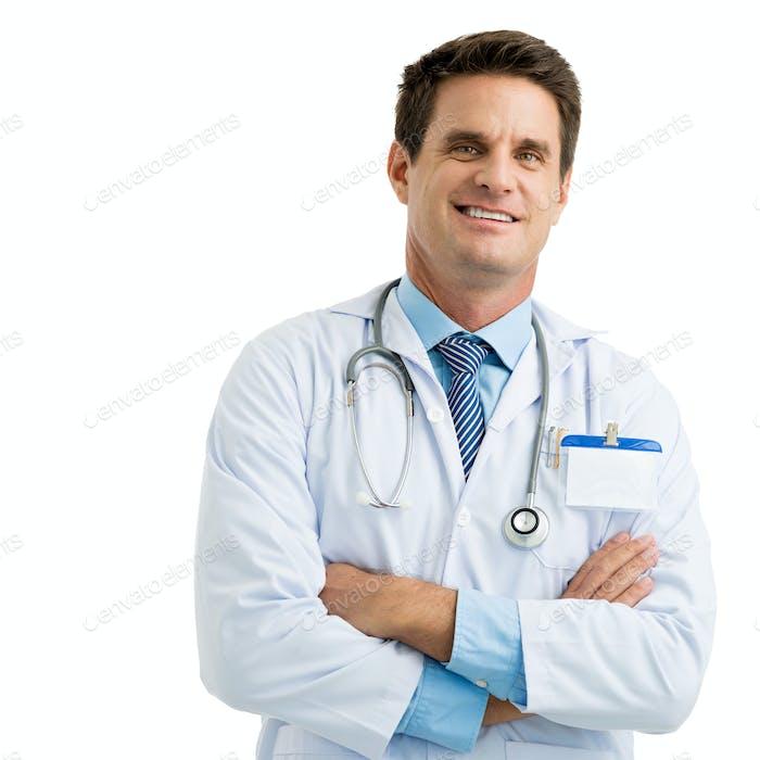 Confident physician