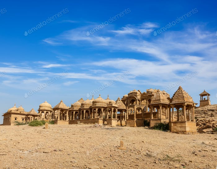 Bada Bagh, Jaisalmer, Rajasthan, India