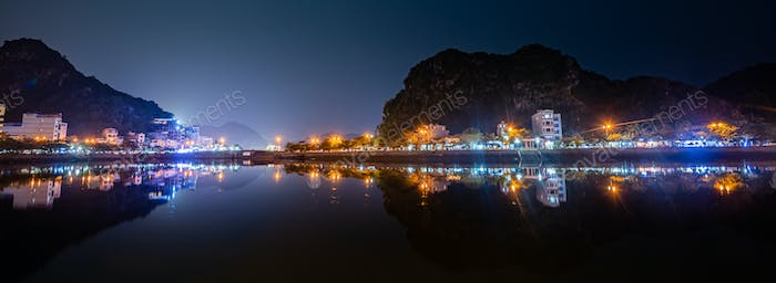 Cat Ba Vietnam at night