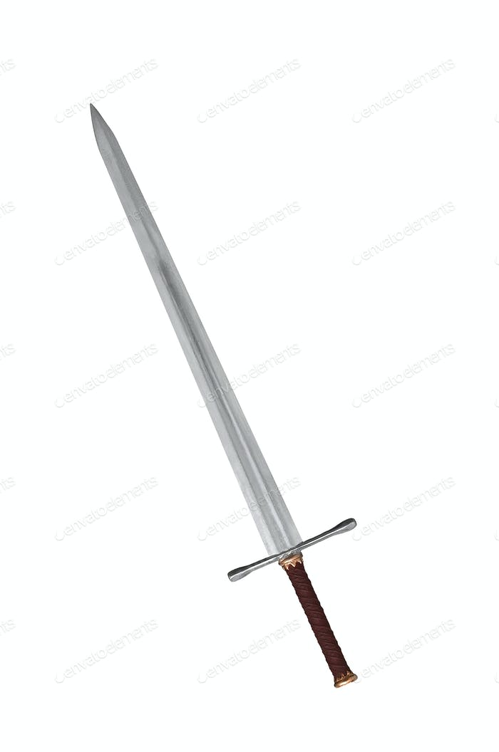 sword isolated on white