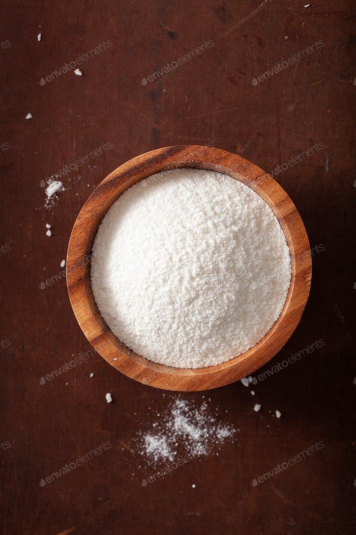 Kokosnussmehl gesunde Zutat für keto paleo Diät