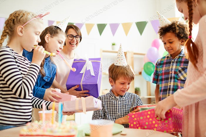 Presents for Birthday Party