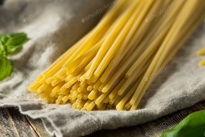 Raw Organic Bucatini Pasta