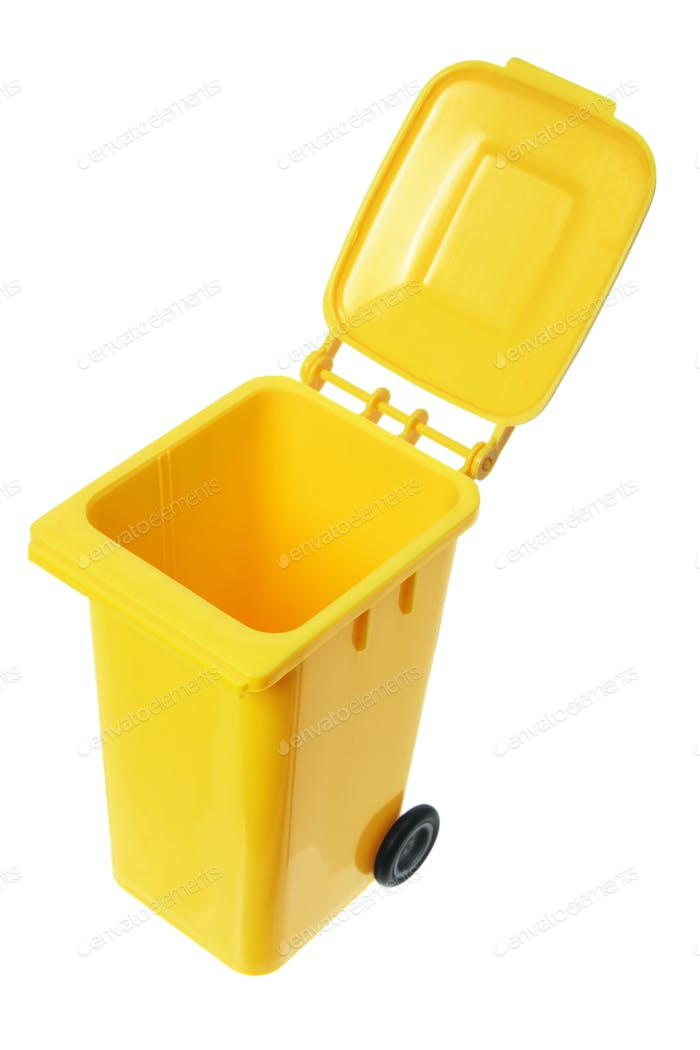 Miniature Garbage Bin