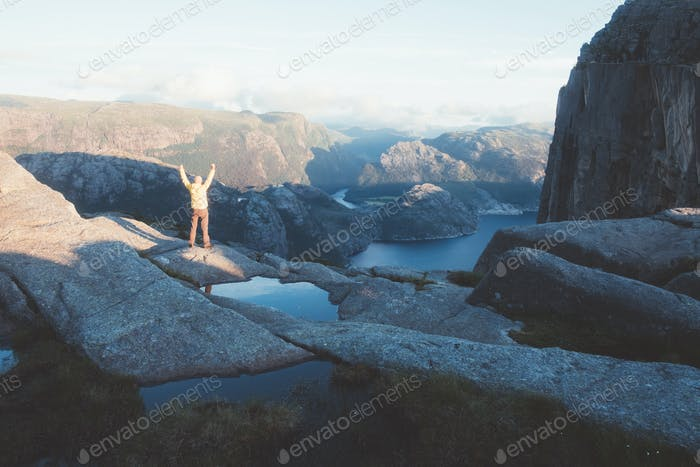 Misty morning on Preikestolen