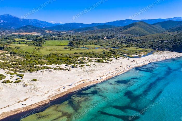 east coast of Corsica
