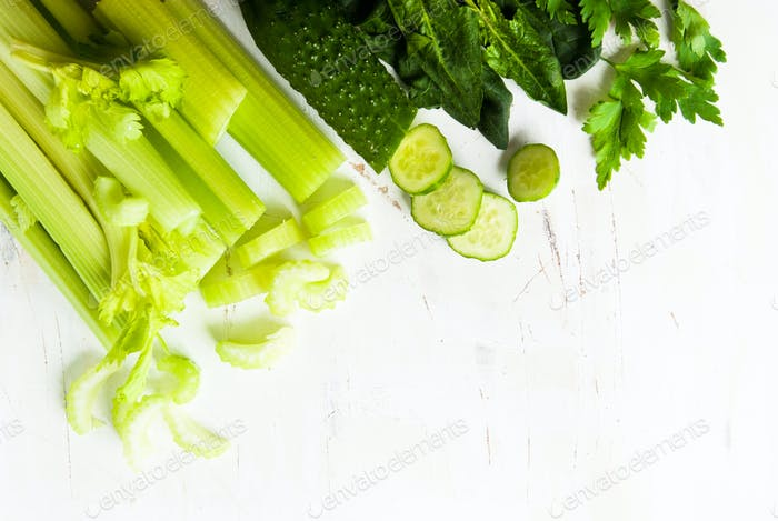 Green vegetable background
