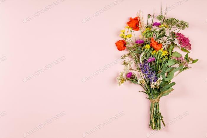 wilde Blumen Blumenstrauß