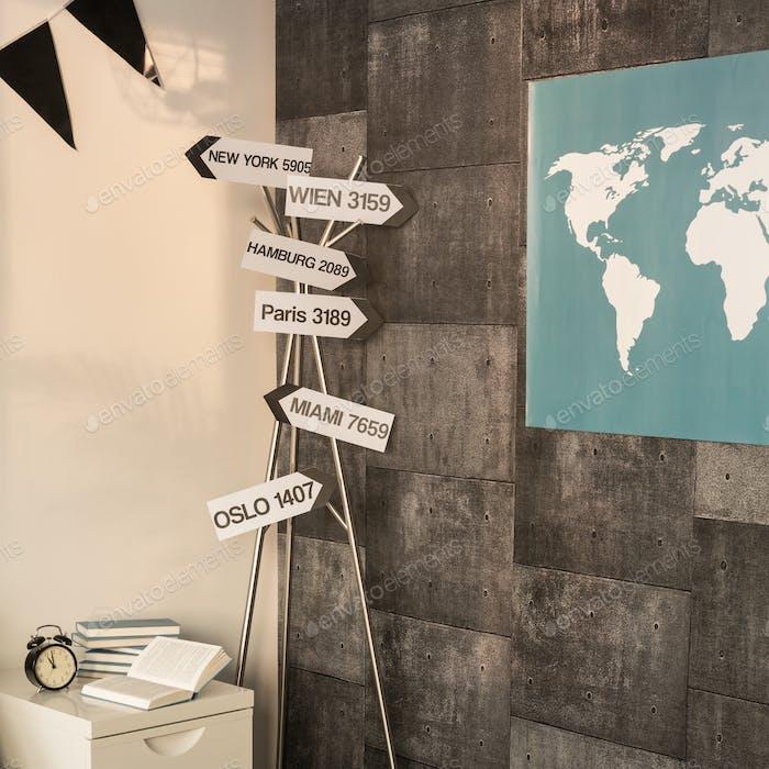 Zuhause auf der ganzen Welt