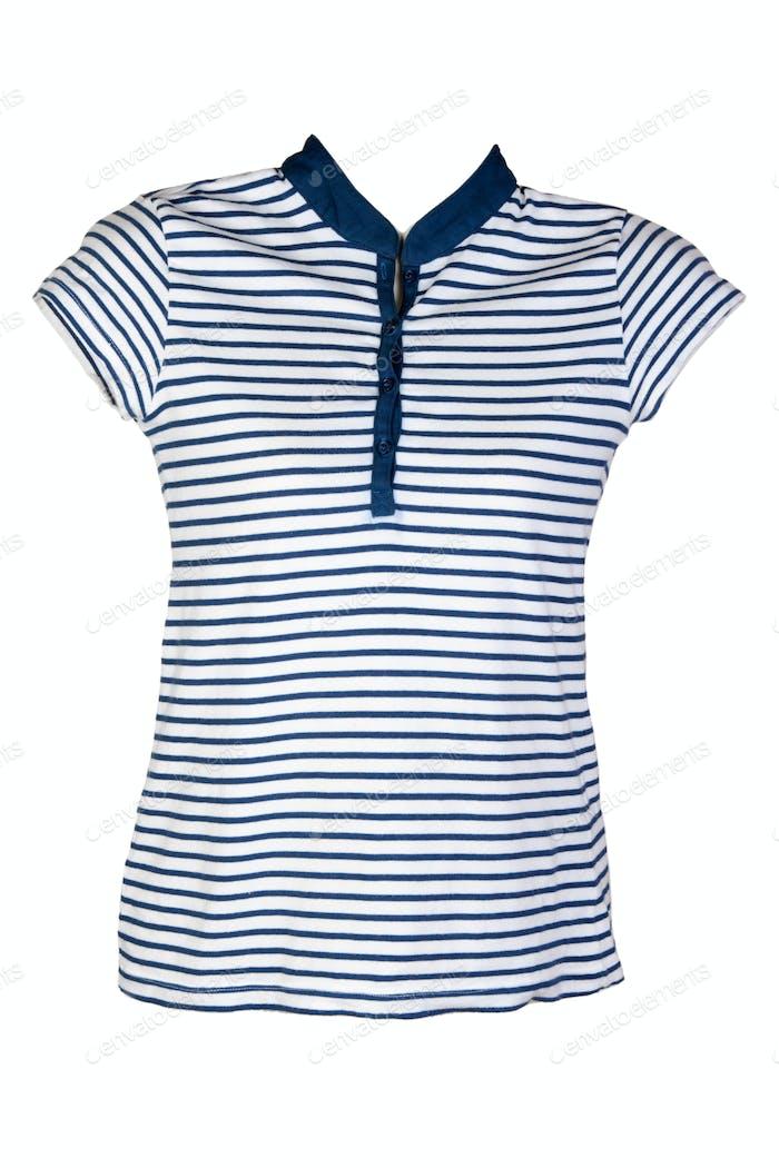 Women's casual wear blue stripes