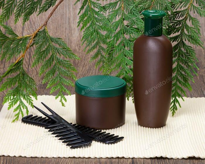 Natürliche Haarpflegekosmetik