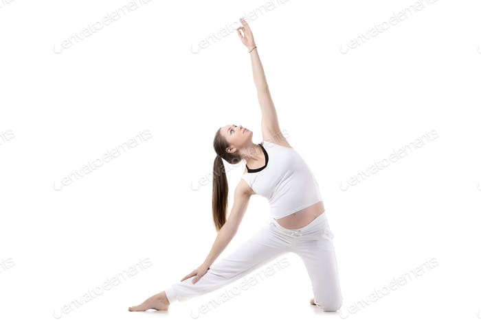 Prenatal Yoga, Gate pose