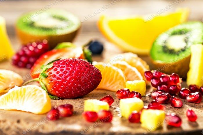 Frisches Obst gemischt