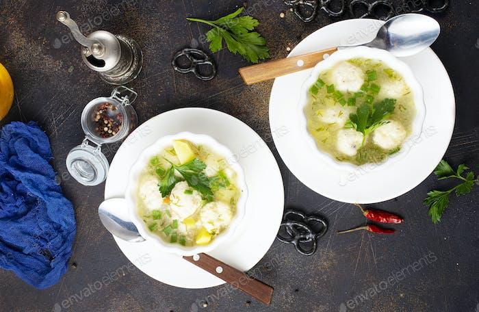 frische Suppe