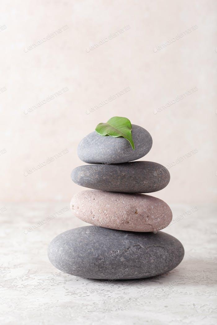 Spa Steine Massage Relax Behandlung