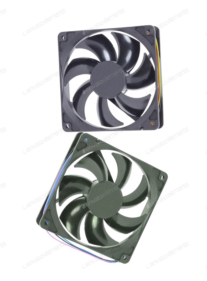 computer cooler isolated