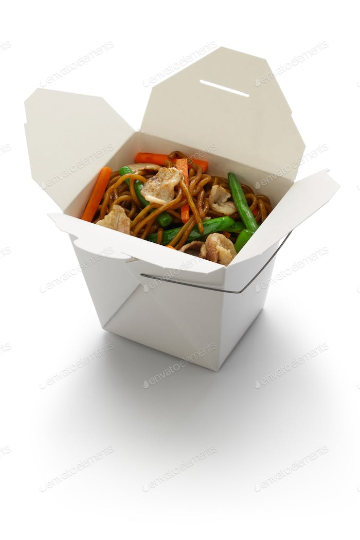chow mein, take out chinese cuisine
