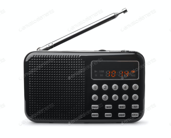 Pocket FM radio mp3 player