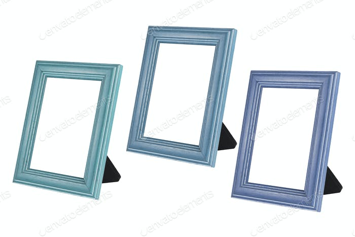 Blank Wooden Photo Frames