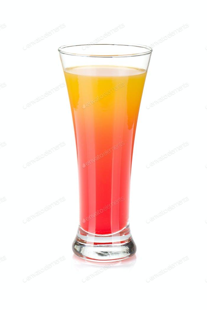 Tequila Sonnenaufgangscocktail