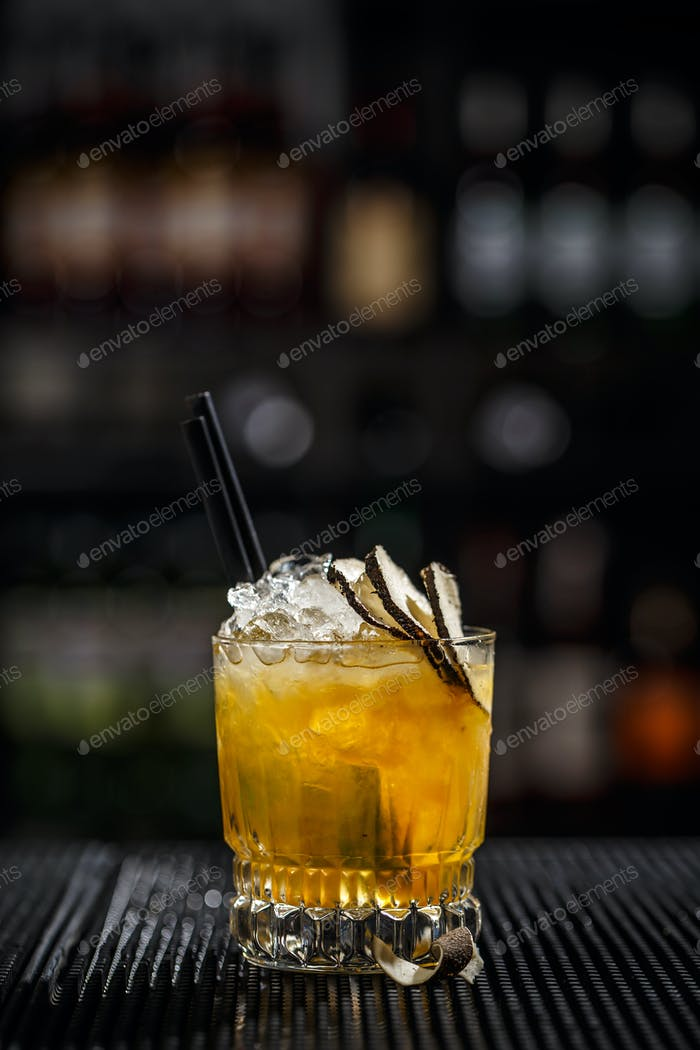 Iced refreshing cocktail
