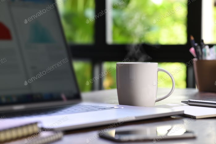 Coffee & Work at home