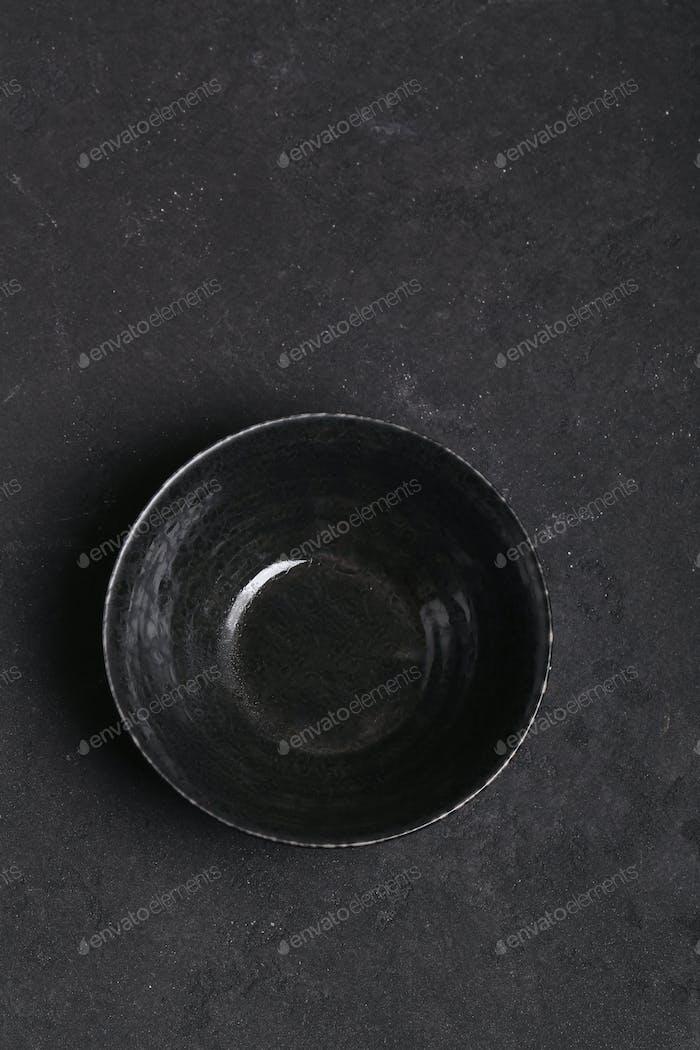 Empty Ceramic Plate