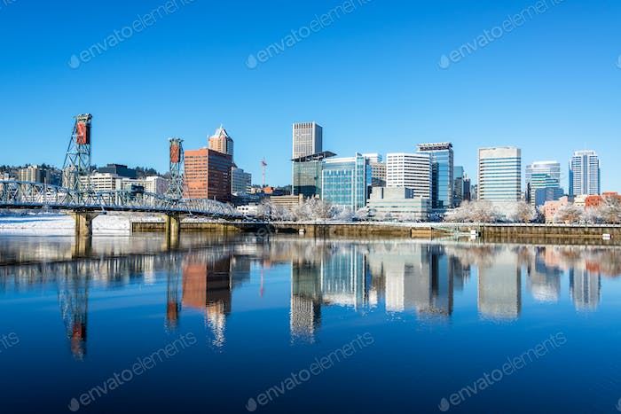 Portland, Oregon Reflection
