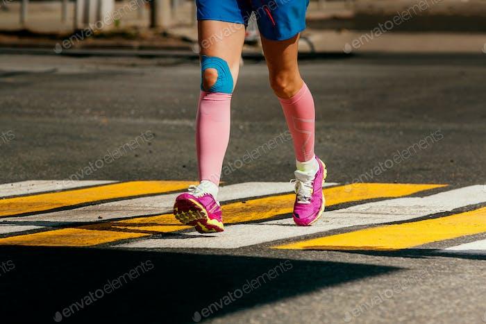 Beine Frau Läufer