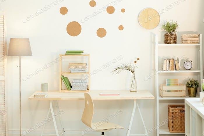 Minimalist Workspace Interior