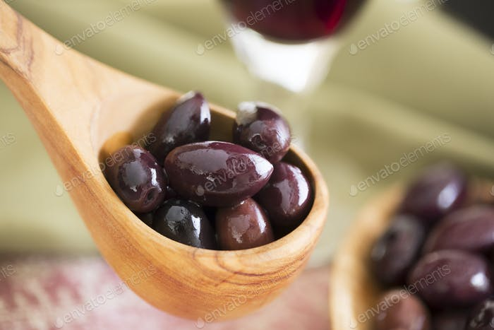 Scoop of Olives