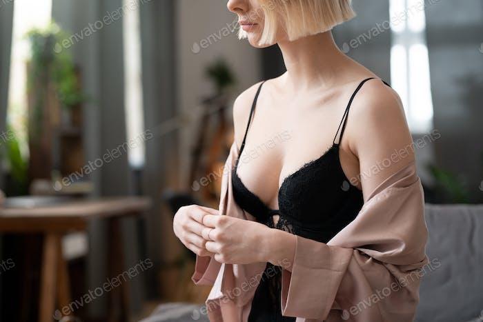 Sexual woman in underwear