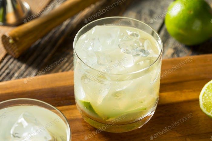Homemade Brazilian Caipirinha Cocktails